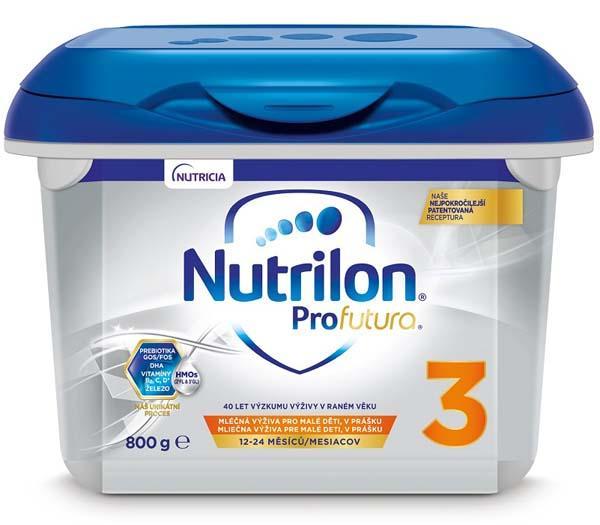 NUTRILON 3 Profutura batoľacie mlieko 800 g, 12+
