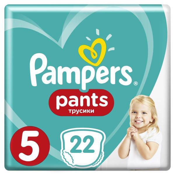PAMPERS Nohavičky plienkové Pants 5 JUNIOR 12-18kg 22ks