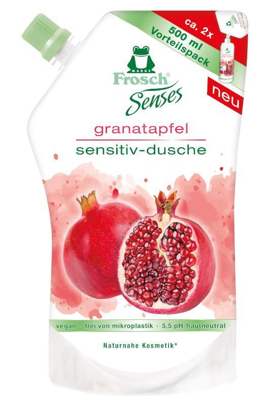 FROSCH EKO Sprchový gél Granátové jablko - náhradná náplň (500 ml)