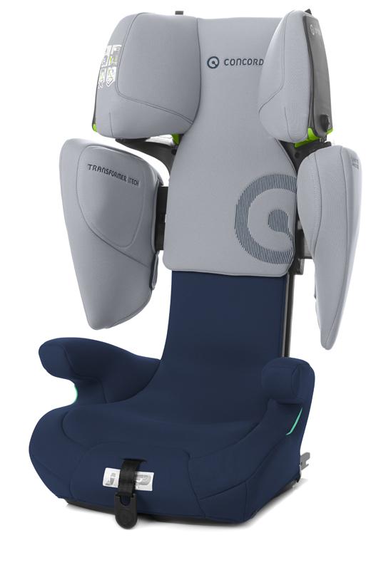 CONCORD Autosedačka Transformer iTECH i-Size 100-150 cm Whale Blue