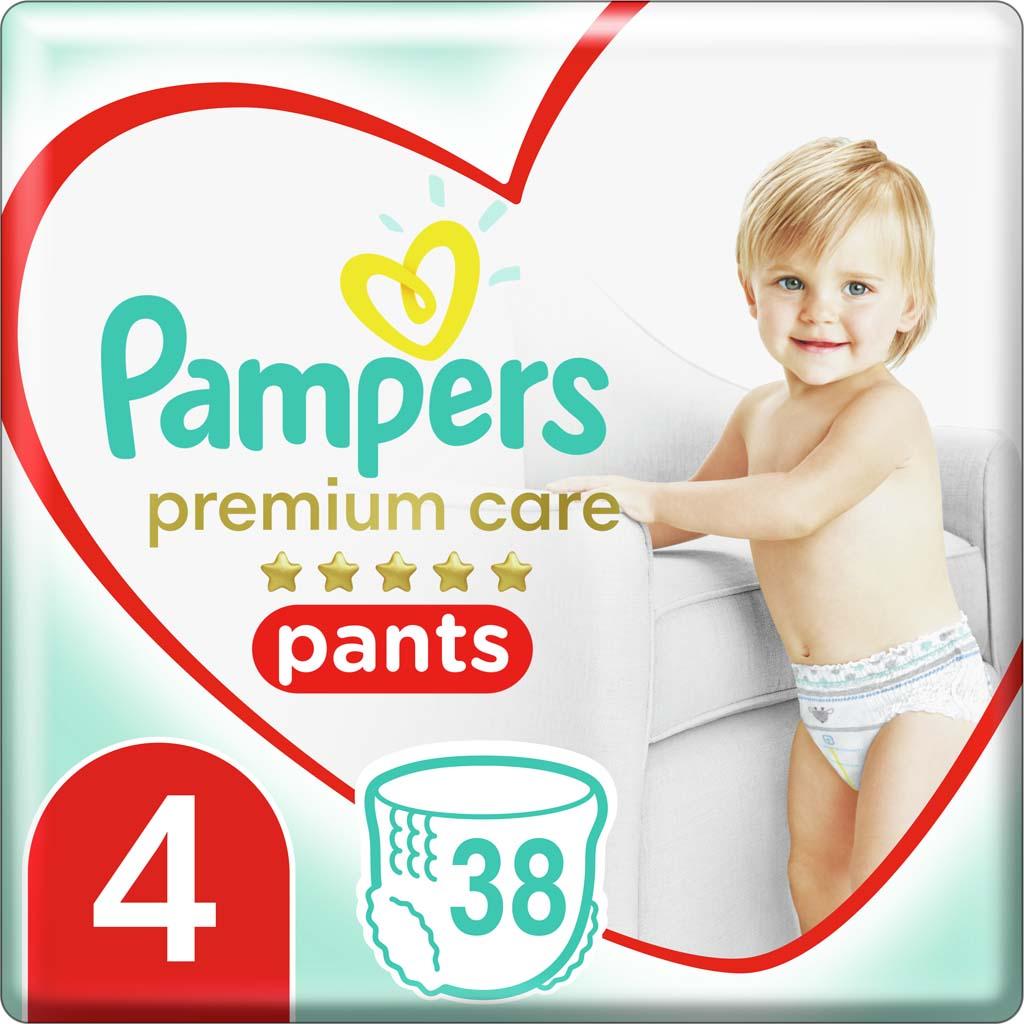 PAMPERS Nohavičky plienkové Premium Care Pants 4 MAXI 9-14kg 38ks