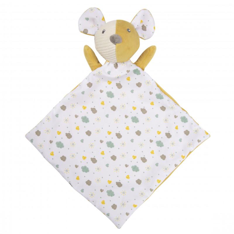 CANPOL BABIES Maznáčik hebký s hrkálkou Mouse