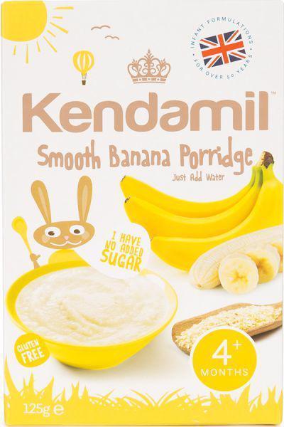 KENDAMIL Kaša mliečna jemná banánová 125 g