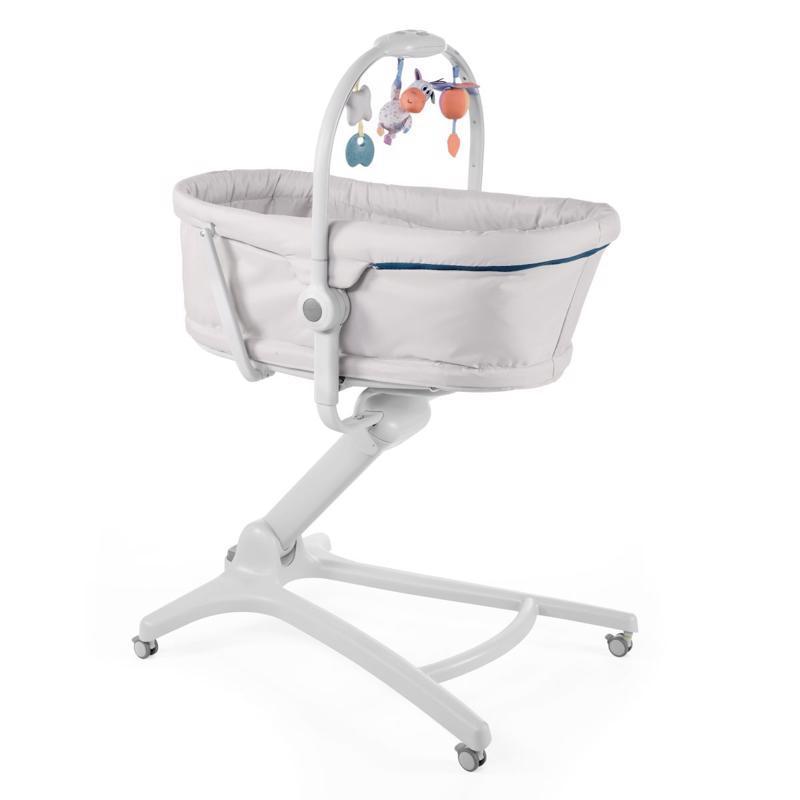 CHICCO Postielka/lehátko/stolička Chicco Baby Hug 4v1 - Glacial
