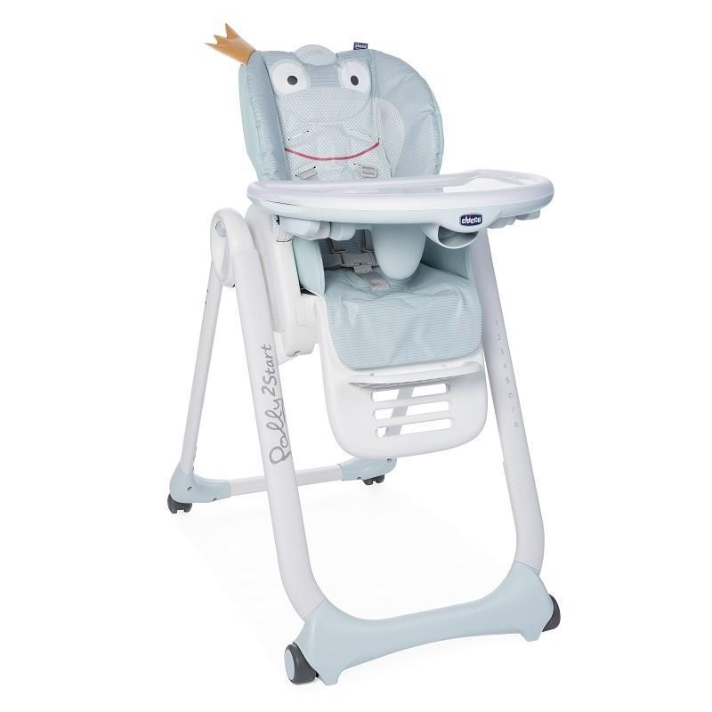 CHICCO Židlička jídelní Polly 2 Start -Froggy