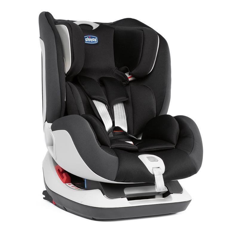 CHICCO Autosedačka Seat Up 012 Jet Black (0-25 kg)