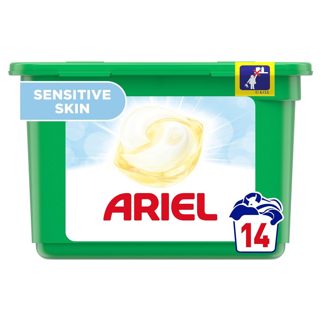 ARIEL Kapsuly na pranie 3-in-1 Sensitive 14 praní - nesedí fotka fotka je 36ks