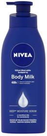 NIVEA Výživné telové mlieko Body Milk 400 ml