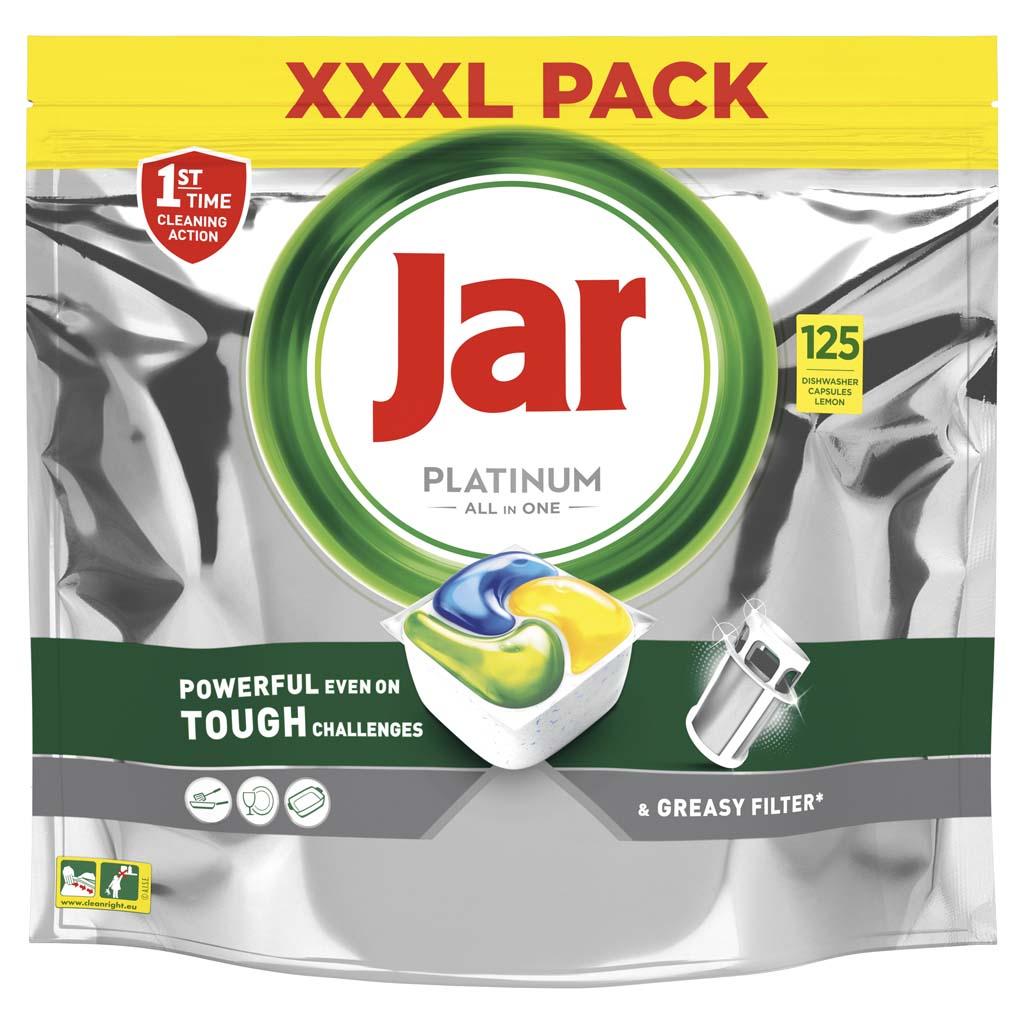 JAR Platinum tablety do umývačky 125 ks XXL