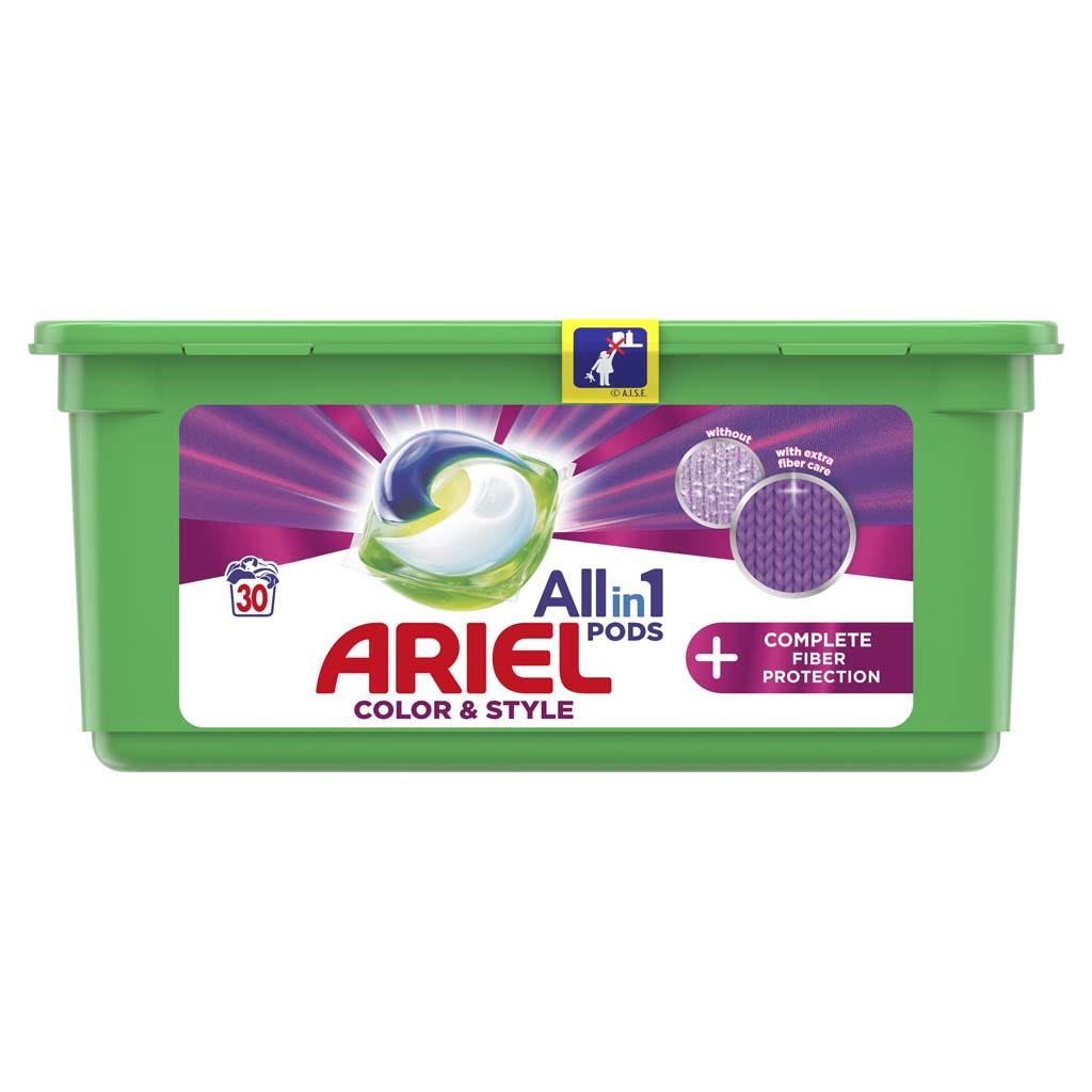 ARIEL Kapsuly gélové na pranie All-in-1 PODS Complete gélové kapsuly na pranie 30 pd