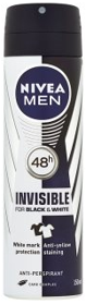 NIVEA MEN Spray Antiperspirant Black&White Power 150 ml