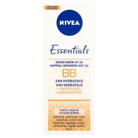 NIVEA Essentials BB Denný krém OF 20 svetlý odtieň 50ml