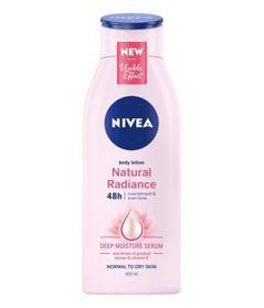NIVEA Natural Radiance Telové mlieko 400 ml