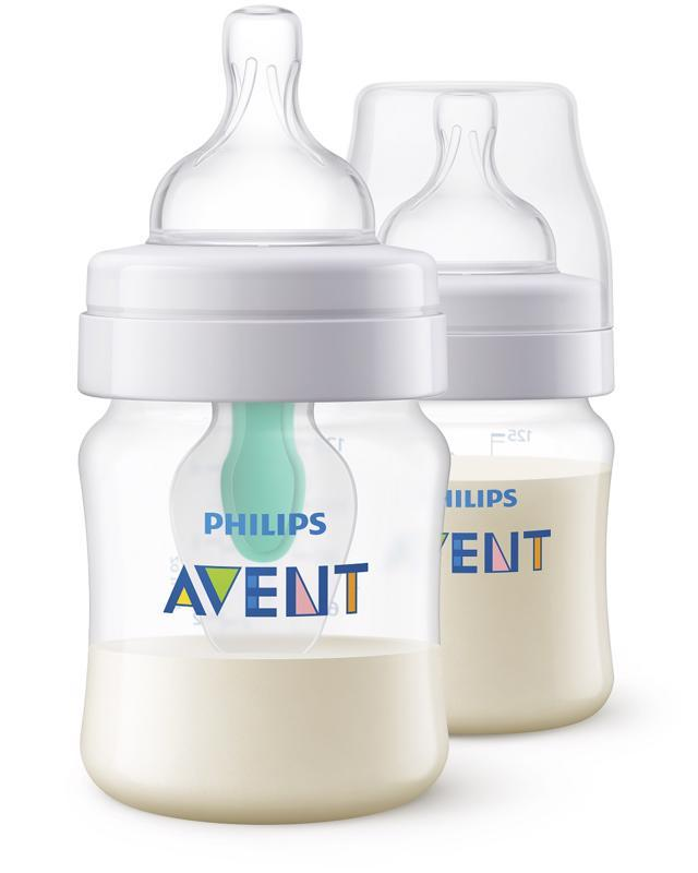 Avent fľaša 125ml AirFree 2ks
