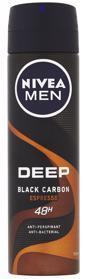 NIVEA Men Deep Espresso Sprej antiperspirant 150 ml