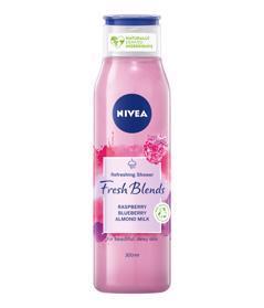 NIVEA Fresh Blends Raspberry Sprchovací gél 300 ml