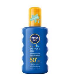 NIVEA Sun Detský farebný sprej na opaľovanie OF50+