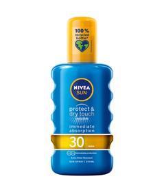 NIVEA Sun Neviditeľný sprej na opaľovanie Protect & Dry OF30