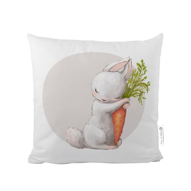 MR. LITTLE FOX Detský vankúš Forest school-hugging bunnies