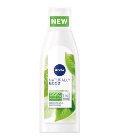 NIVEA Naturally Good Čistiace pleťové mlieko 200 ml