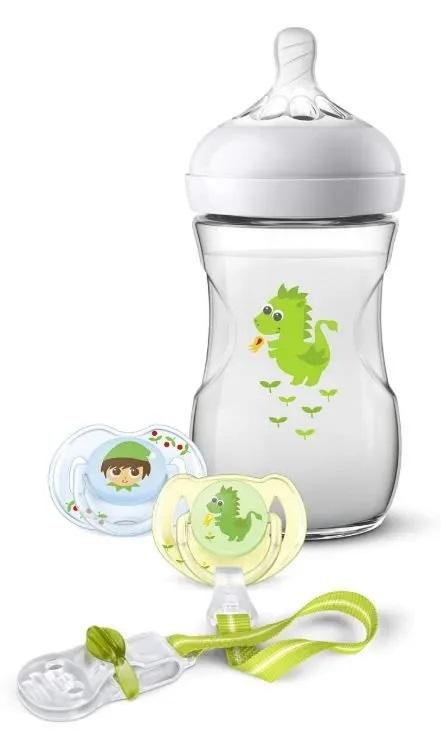 Philips AVENT Avent sada Natural 260 ml drak zelená