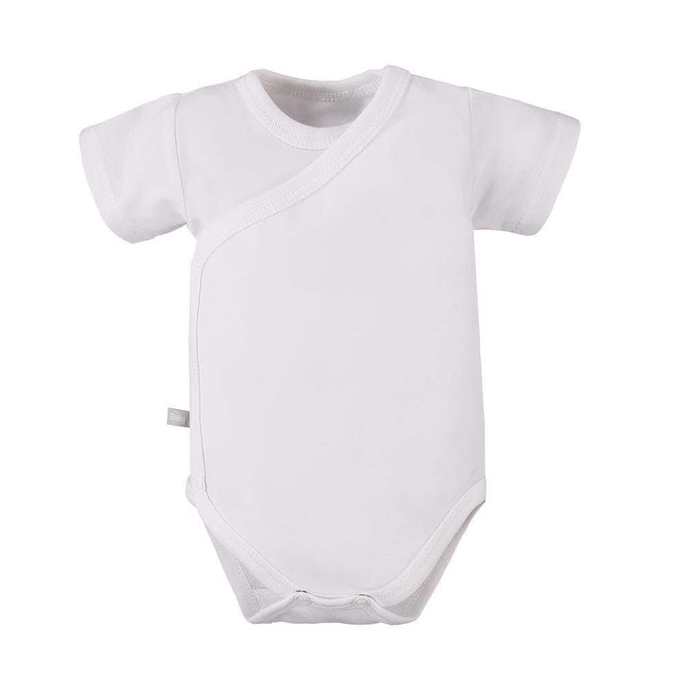 EEVI Body krátky rukáv White 68, 6m