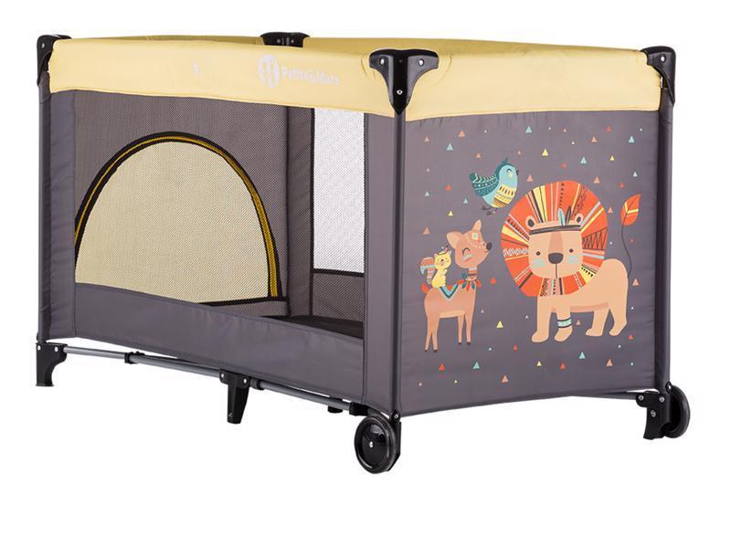 PETITE&MARS Postýlka cestovní Koot - Lion Yellow
