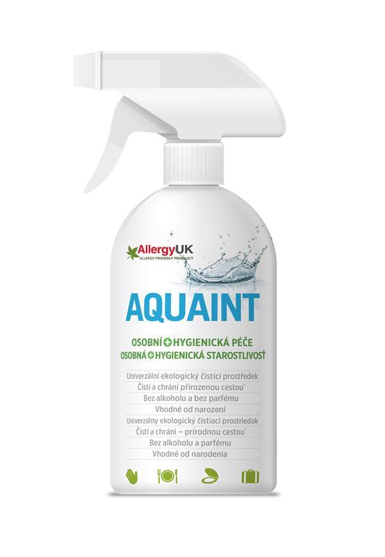 AQUAINT 100% ekologická čistiaca voda 500 ml
