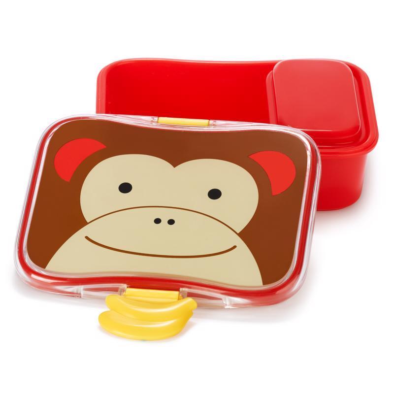 SKIP HOP Zoo Krabička na desiatu 700 ml Opička 3+