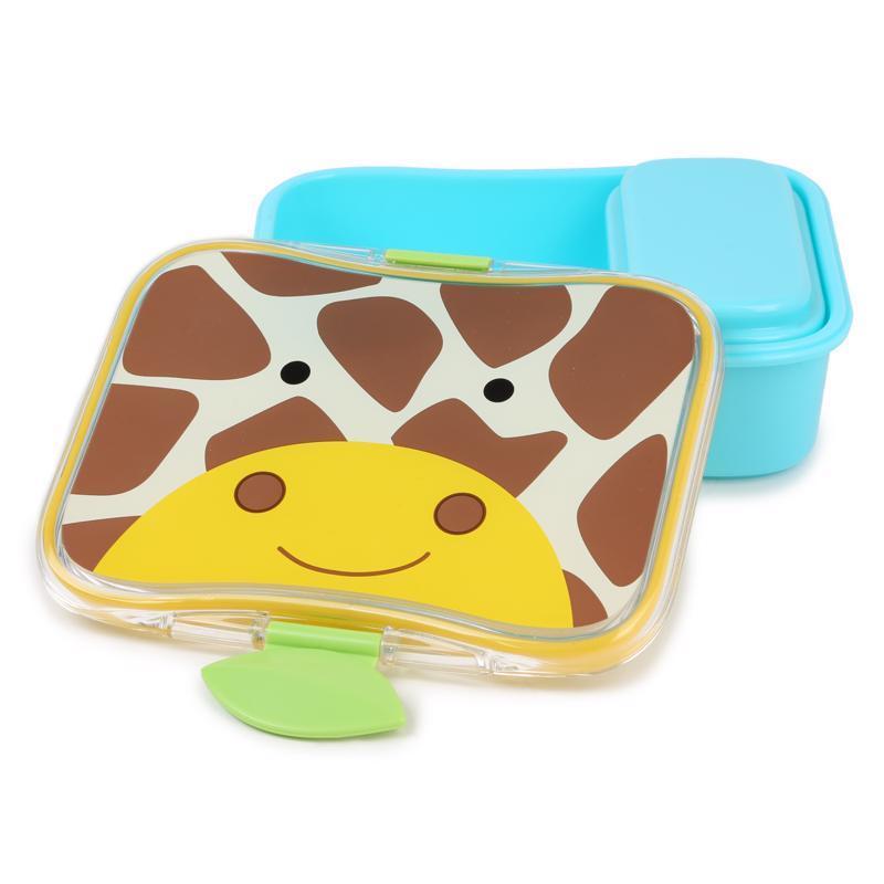 SKIP HOP Zoo Krabička na desiatu 700 ml Žirafa 3+