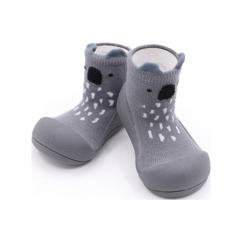 ATTIPAS Topánočky detské Koala Gray S