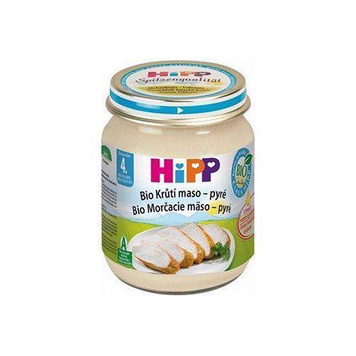 HiPP Príkrm mäsový BIO Morčacie mäso 125g