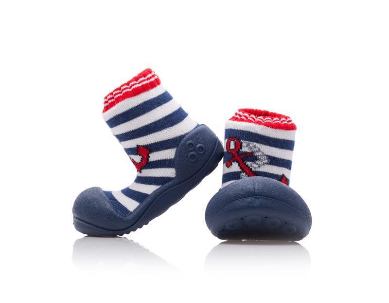 ATTIPAS Topánočky detské Marine Anchor XXL