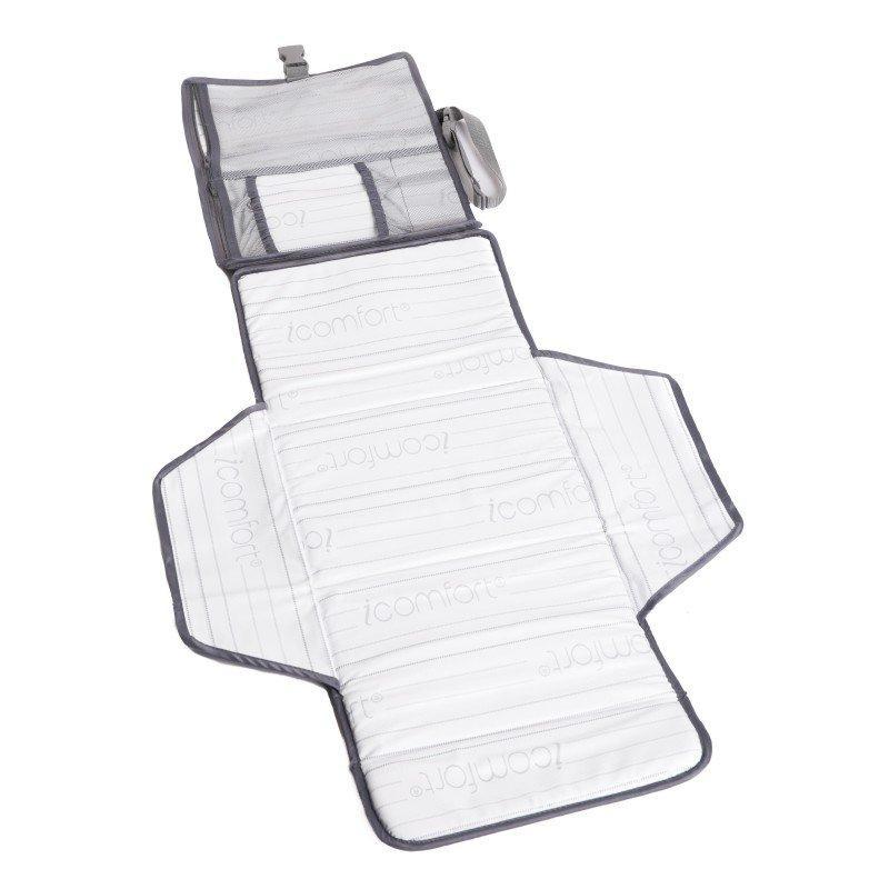 BO JUNGLE Prebaľovacia podložka B-Portable Grey