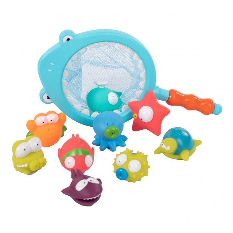 BO JUNGLE Hračky do vody B-Shark Fishing Set