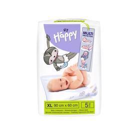 BELLA HAPPY Detské prebaľovacie podložky (90 x 60 cm) 5 ks