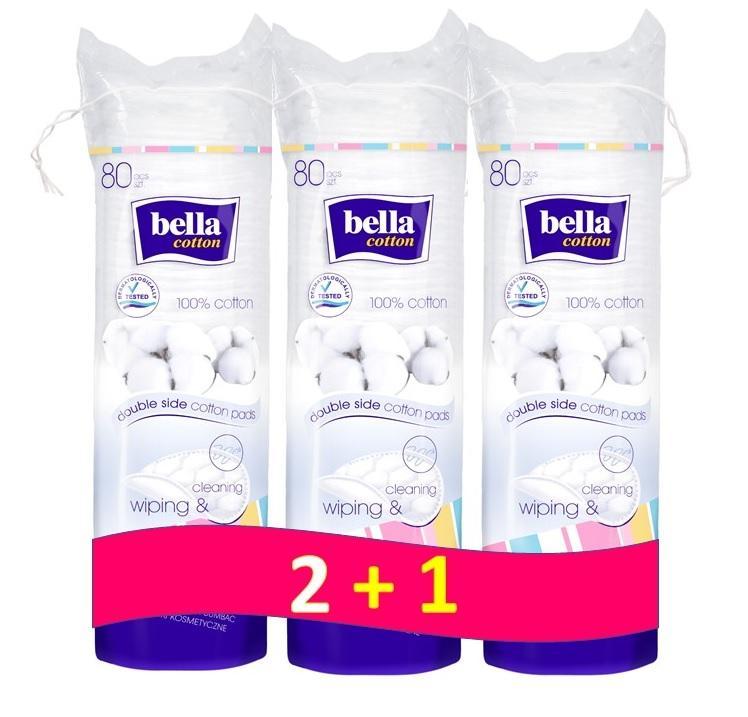 BELLA Odličovacie tampóny (3x80 ks)