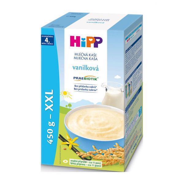 HiPP Kaša mliečna Praebiotik vanilková 450g