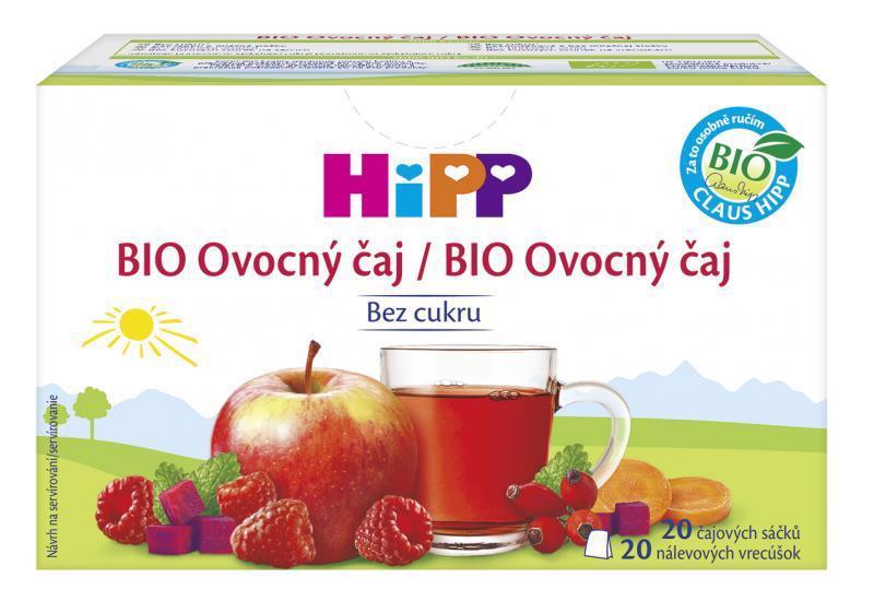 Čaj BIO ovocný 20x2g Hipp