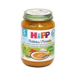 HiPP Polievka BIO zeleninová s morčacím mäsom 190g