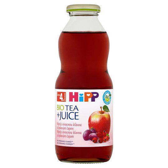 HiPP Čaj BIO šípkový so šťavou z červených plodov 500ml