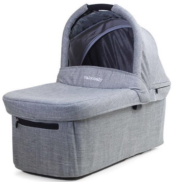VALCO BABY Korbička ke kočárku Valco Snap Trend a   Ultra Trend Grey Marle