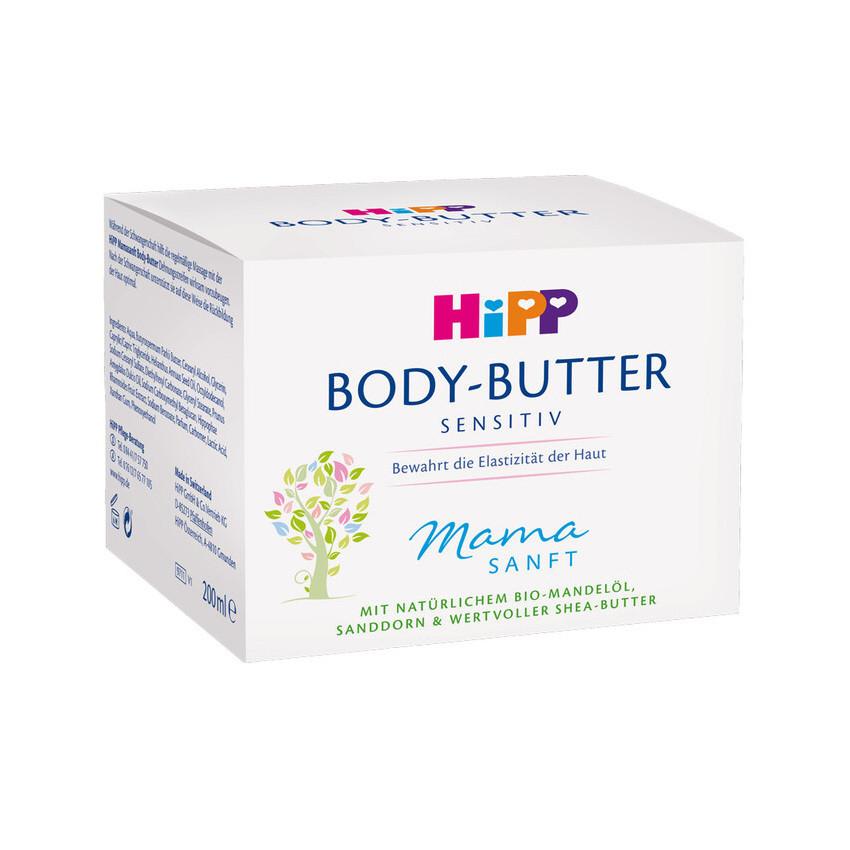 HiPP Maslo telové Mamasanft 200ml
