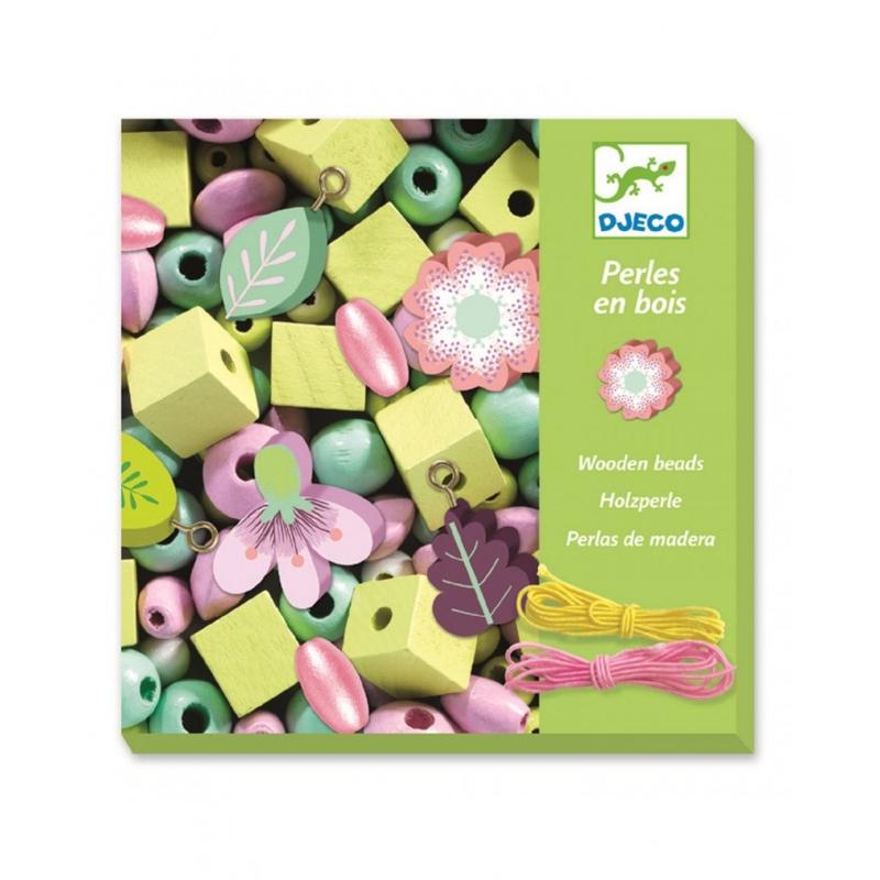 DJECO Tvorenie šperkov pastelové kvety