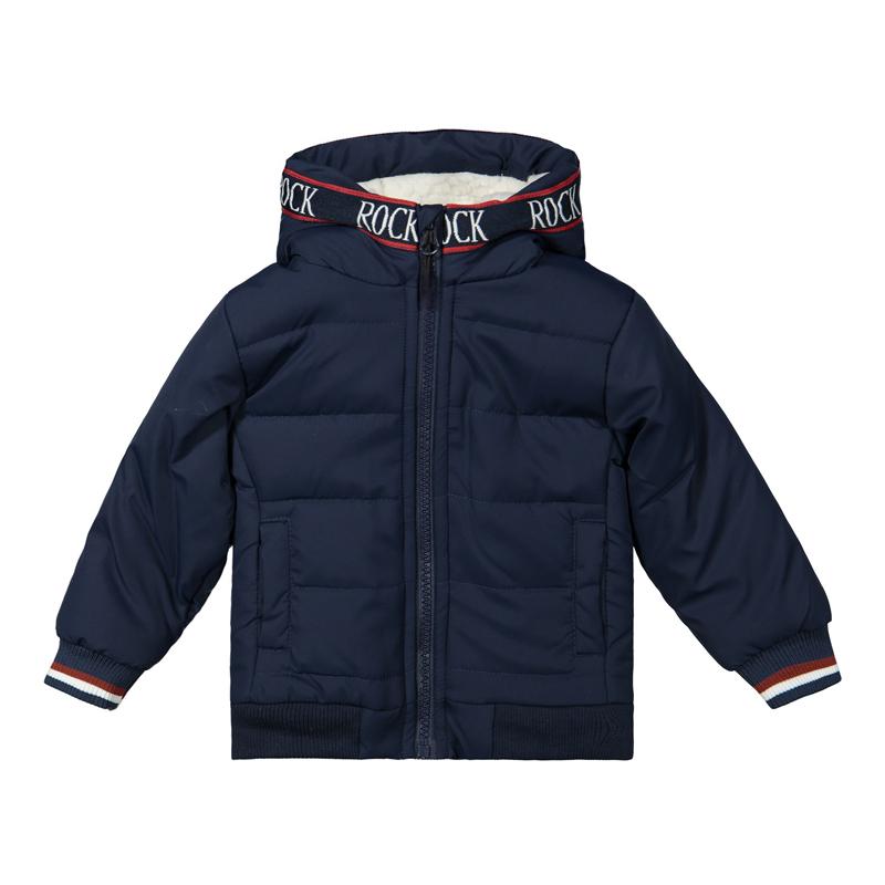 DIRKJE Bunda s kapucňou Modrá chlapec 86