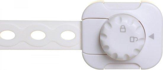 DREAMBABY Uzáver bezpečnostný univerzálny TWIST 'N LOCK 6 kusov biela
