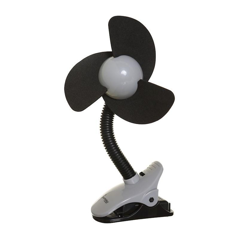 DREAMBABY Ventilátor na kočík FIN čierny
