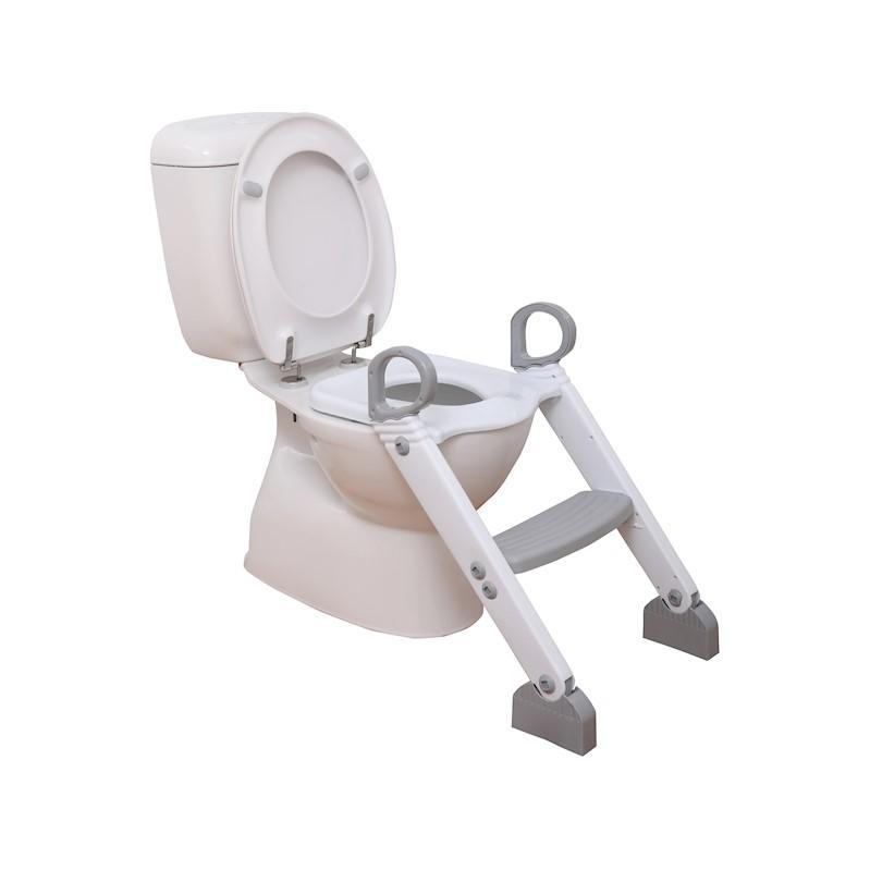DREAMBABY Stupienok k WC šedo/biela