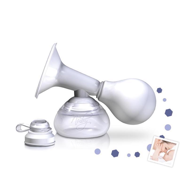 NUBY Odsávačka materského mlieka manuálna s nádobkou 90 ml