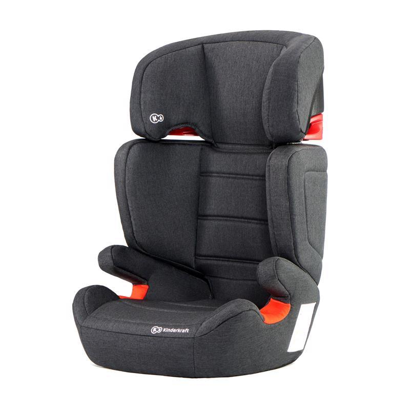 KINDERKRAFT Autosedačka Junior Fix Isofix Black 15-36 kg